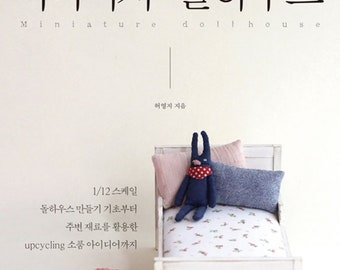 Miniature And Doll House By Heo Young Ji, 1/12 Scale Doll House, Upcycling Items, Doll Miniature Book