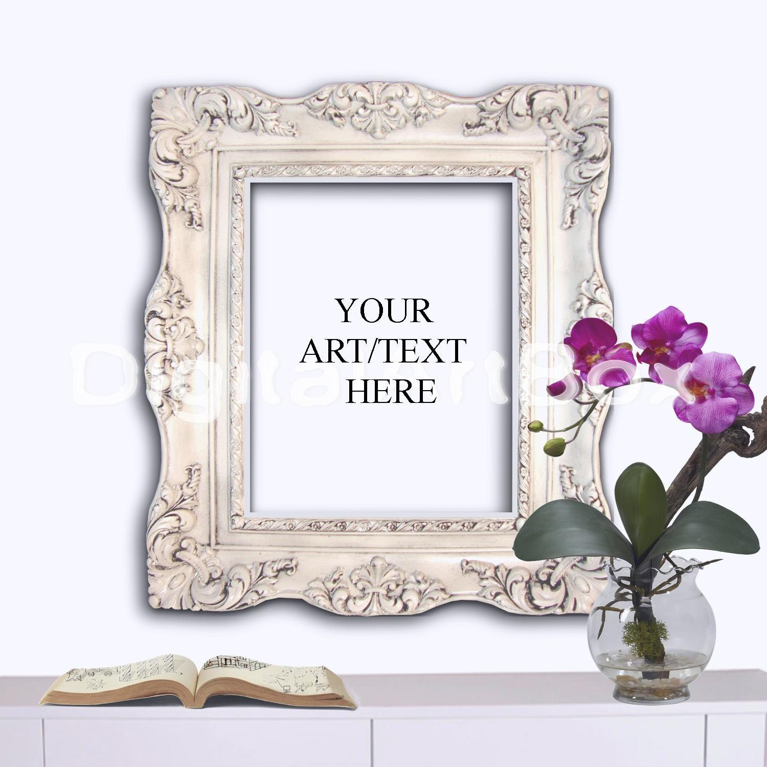 Fine Baroque Picture Frames 8x10 Embellishment - Picture Frame Ideas ...