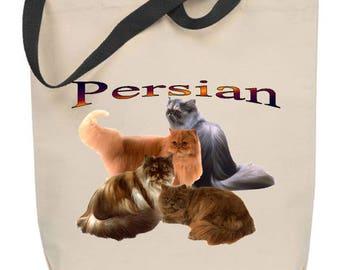 Persian Cat Tote Bag