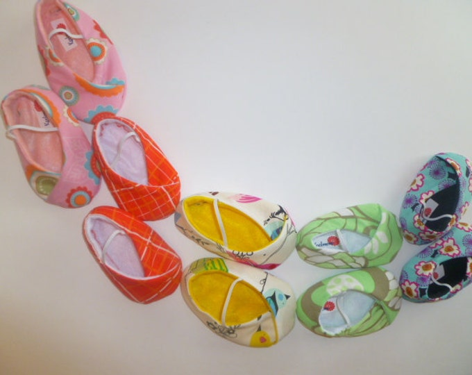 BABY SHOES - any pair of shoes to match Kimono outfit - you pick fabric
