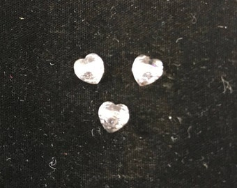 5742 Swarovski® 8mm Heart Bead - Crystal