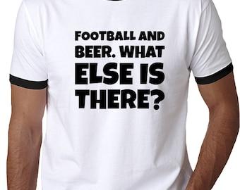 Football And Beer T Shirt