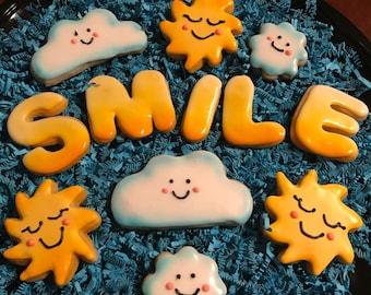One Dozen SMILE Cookies