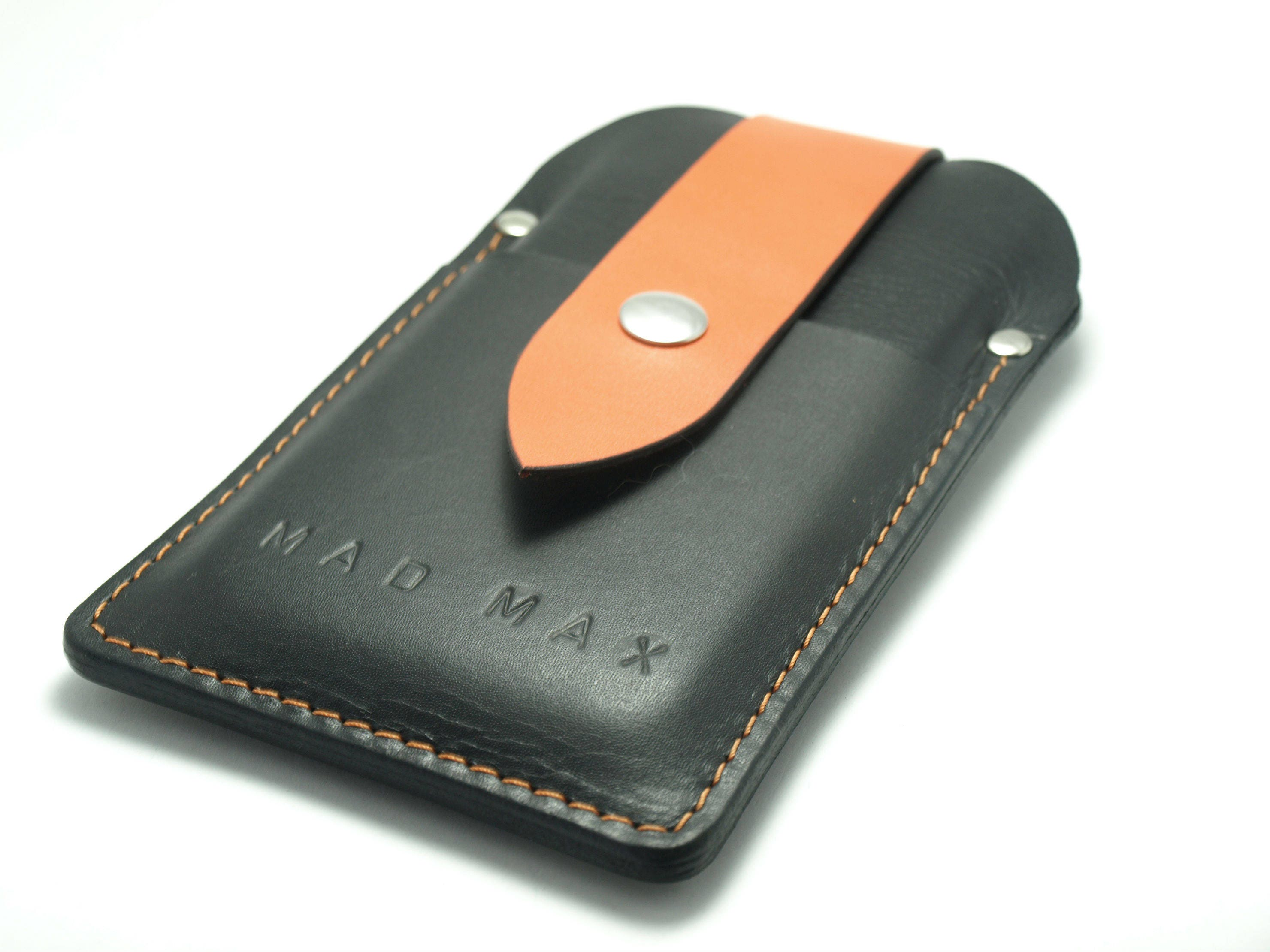 HARLEY DAVIDSON COLOR Handmade cow leather sleeve iPhone 6 7 8