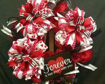 Stunning Valentine Wreath