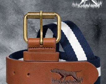 Personalised Custom Logo Embossed Belts - The Perfect Gift for DAD