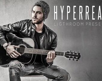 Hyperreal Lightroom Presets - 13 Presets - Adobe Lightroom 4, Lightroom 5, Lightroom 6 and CC - HDR Lightroom presets