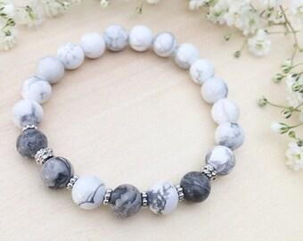 Precious gray marble