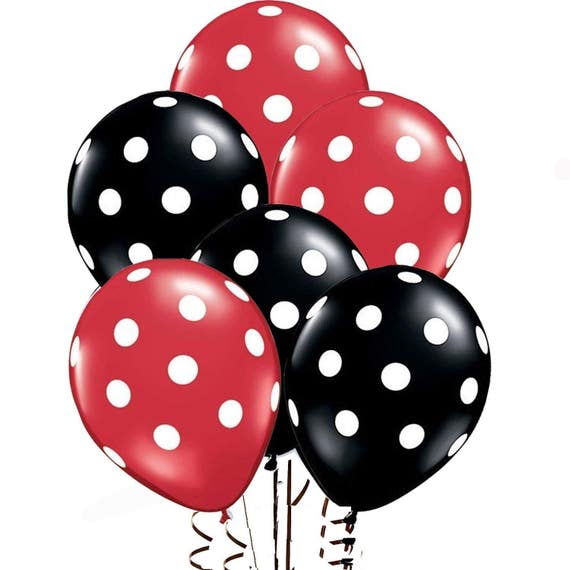 Ladybug Theme Baby Shower; Ladybug Birthday Party; Ladybug Balloons; Ladybug  Decorations; Little Lady Theme Decorations;Polka Dot Balloons From ...