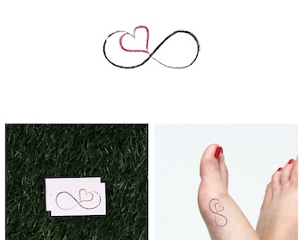 Til Death - Temporary Tattoo (Set of 2)