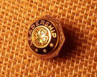 Gold-filled 4-H Leadership Pin