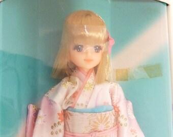 Takara Barbie 1980s Japanese Kimono doll
