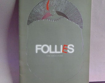Follies London 1987 Program - Stephen Sondheim - Diana Rigg, Julia McKenzie, Daniel Massey, Dolores Gray - Follies Souvenir Programme