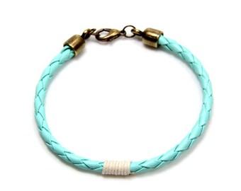 Pulseira quilha - Porto Bracelet - Nautical Sailing Bracelet - Bracelets Charm - Rope Bracelet - Navy - Pulseira
