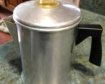 1950's Mirro Drip O Lator 2 Cup Coffee Pot