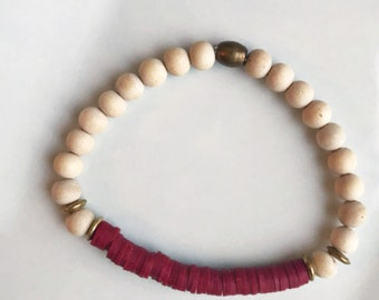 SALE** Red Essential Oil Diffuser Bracelet - Style A