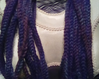 "Braided Yarn ""Cuffed"" Necklace of 13 Strands--NEW!"
