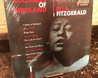 Lullabies of Birdland - Ella Fitzgerald -  Vinyl LP Record - Excellent Condition Vintage Pressing - Free Shipping!