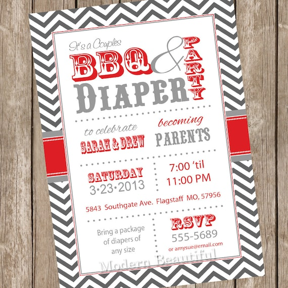 Couples bbq and diaper baby shower invitation barbecue red couples bbq and diaper baby shower invitation barbecue red gray diaper invitation couple baby shower printable invitation filmwisefo Gallery