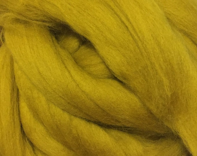 Leaf - Commercially Dyed Merino Wool Top