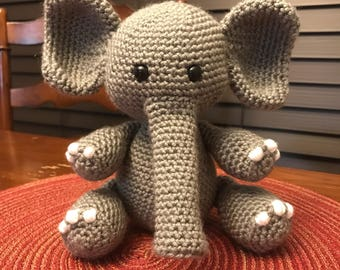 Elephant Crochet Amigurimi
