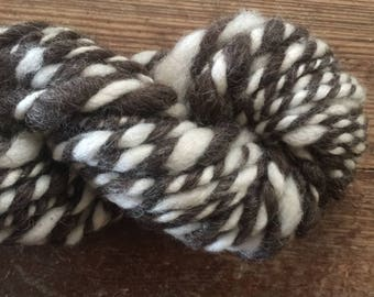 Homespun art yarn - The Dark Side
