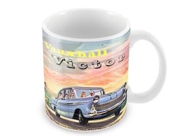 Vauxhall Victor Advert Ceramic Coffee Mug    Free Personalisation