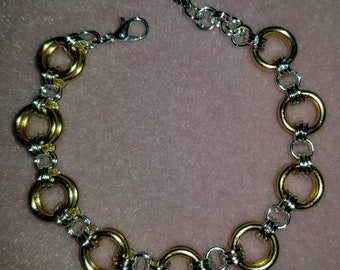 Glitz & Glam Gold and Silver Bracelet