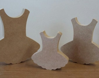 Blank MDF wood tutu ideal for craft for painting...