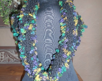 Hand Knit Cowl, Knit Cowl, Neck Warmer