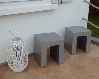 Pair of stools Habitat Tico II redone