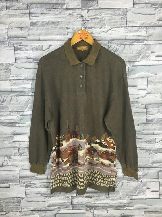 Vtg 90s Lancel shirt liWJK9