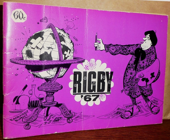Rigby '67 (Annual Collection) by Paul C. Rigby - Political Social Cartoons Comics Humor - Daily Times Perth, Australia