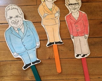 Ontario Election 2018 Paper Puppets