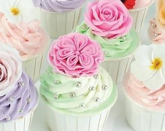 20 paper napkins. Paper Napkins, Floral Paper Napkins, Party Napkins, Dessert Napkins,Cake Napkins, Bridal Shower Napkins, Beverage Napkins
