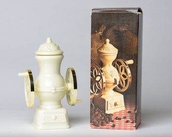 """Vintage Avon """"Country Store Coffee Mill"""" Decanter with Sonnet Cologne"""