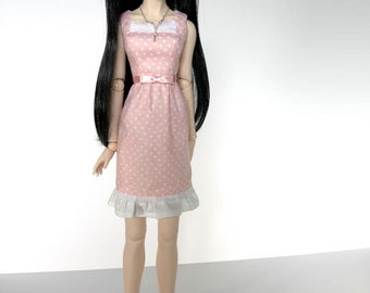 Dollfie Dream Armelia Dress in Pale Pink