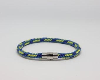 Mens Climbing Rope Bracelet | Sailing Rope Bracelet | Paracord Bracelet | Gift for Him - by NEVETdesigns