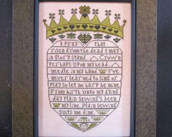 Crowned Heart Pattern