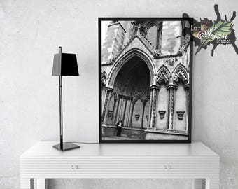Downloadable, london, Wall art, photo, photography, black and white, printable
