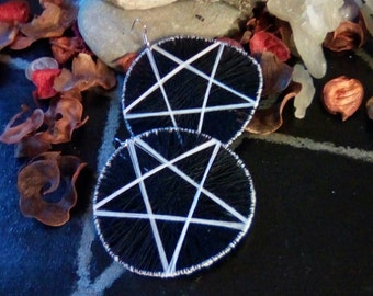 Threaded Pentacle Hoops