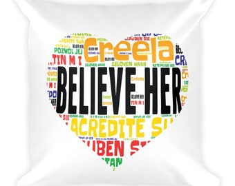 Feminist Quotes, Feminist Square Pillow, Women's Rights Gifts, Equal Women's Rights, Women Empowerment, Girl Power, Grlpwr, Strong Women, De