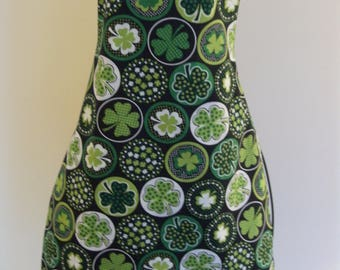 St. Patrick's Day Reversible Apron