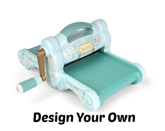 Big Shot Cozy - Design Your Own Quilted Dust Cover
