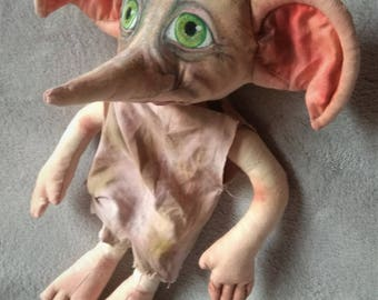 Dobby, The house elf, Harry Potter, Fabric doll