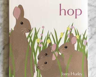 HOP Hardcover Children's Picture Book, Signed by Author
