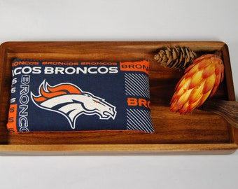Denver Broncos Small Pillow