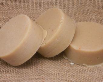 Sacred Sandalwood NO Coconut Goats Milk Shaving Soap 5 oz