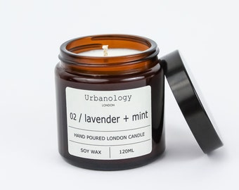 Travel Soy Candle - Lavender + Mint (120ml)