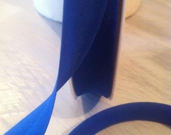 All fabric bias neck 742 blue